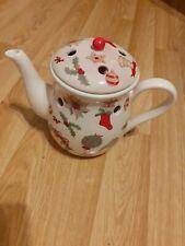 YANKEE CANDLE CHRISTMAS TEAPOT-Wax Tart Candle Burner