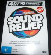 Sound Relief Rare Australian 4 DVD Concert Coldplay / Kylie Minogue Icehouse &