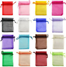 100pcs Organza Wedding Party Favor Decoration Gift Candy Sheer Bags Pouches DIY