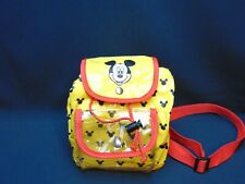 Vintage Mickey Mouse Backpack Plastic Child Size