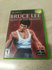 Bruce Lee Quest Of The Dragon Microsoft XBOX Universal Interactive