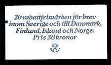 """SWEDEN - SVEZIA - Libretto - 1981 - Valori """"scontati"""". Stemmi di provincie (1)"""