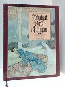Rubaiyat of Omar Khayyam by Omar Khayyam Hardback Book The Cheap Fast Free Post