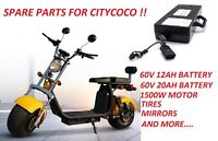 BATTERY FOR CITYCOCO - SPARE PARTS FOR CITYCOCO, EU WAREHOUSE WE SEND WORLDWIDE
