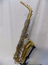 """VINTAGE Refurbished King """"Cleveland"""" 613 Student Eb Alto Saxophone"""