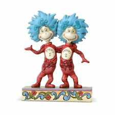 Dr Seuss by Jim Shore 6002908 The Cat in the Hat Thing 1 and Thing 2 Figurine
