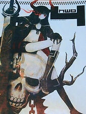 huke Color Art Book PIC4 Black Rock Shooter Very Rare