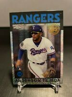 Anderson Tejada 2021 Topps Silver Pack Chrome 1986 #86BC-45 - Rookie RC -Rangers