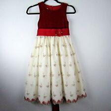 Cinderella Brand 7 Holiday Dress Party Red Velvet Christmas Petticoat