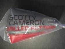 Scotty Cameron 2016 Select Newport MALLET 1 Wide Putter Headcover Titleist NIB