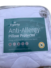 BEDDING HEAVEN Anti Allergy Quilted PILLOW PROTECTOR Made by FOGARTY