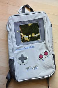 Gameboy Rucksack Nintendo Game Boy Retro grau