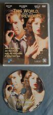 THIS WORLD THEN THE FIREWORKS dvd Nederlands ondertiteld English Audio REGION 2