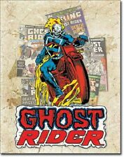 """12 1/2"""" X 16"""" Tin Sign Ghost Rider Cover Splash Metal Sign New"""
