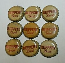 New Listing9 - Ruppert Dark - Cork Beer Bottle Caps - New York, New York