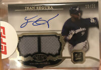 2013 Topps Tier One Jean Segura Jersey Patch On-Card Auto 19/25 Sealed