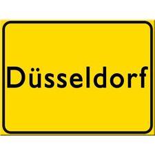 MAGNET 14143 - STADTSCHILD DÜSSELDORF - 8 x 6 cm - NEU