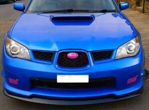 For Subaru Impreza Hawkeye Models Front Splitter Lip Spoiler 06-07 STi Plastic