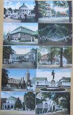 Dresden 10 ungebrauchte Postkarten zur Internationalen Hygiene Ausstellung 1911!