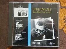 CD LITTLE WALTER - Boss Blues Harmonica / Les Génies Du Blues - Editions Atlas