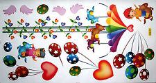MERRY GO ROUND Decalcomanie Parete Kids / Bambino Adesivo Art