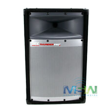 "NEW MTX AUDIO TP1100 10"" THUNDER PRO-2 PROFESSIONAL 2-WAY LOUDSPEAKER PA SYSTEM"