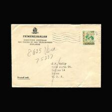 Iceland, Cover, Sc #366, Flora, Clover, Trifolium repens, COV278-9