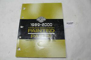 1989 - 2000 Harley Painted Parts Catalog 99489-00 FXR Dyna FL Softail EPS23565