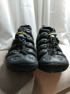MION GSR Rubber Water Hiking Sandals Shoes Steel Blue Men Size 9 with Insoles