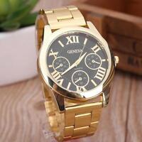 elegante frauen quarz auf analoge armbanduhr armband - uhren geschenk quarz KS
