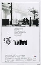 WOODY ALLEN SIGNED MANHATTAN 11X17 MOVIE POSTER PSA COA AD48150