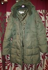 Designer Larry Levine Hooded Coat size L