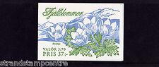 Sweden - 1995 Mountain Flowers Booklet - U/M - SG SB480