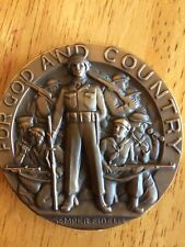 AMERICAN LEGION BRONZE SCHOOL AWARD  FOR GOD AND COUNTRY