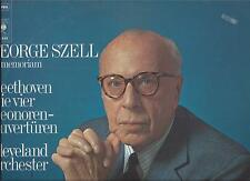 George Szell in Memoriam : Beethoven - Leonore Ouvertüren Nr.1-4 - CBS Stereo LP
