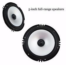 "5"" Inch Car Speakers Stereo Automobile HiFi car Full Range Audio Speakers"