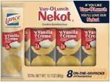 VAN-O-LUNCH NEKOT Vanilla Cookies Crackers Lance