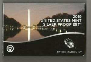 2019 s 11-piece silver proof set with W-minted Lincoln