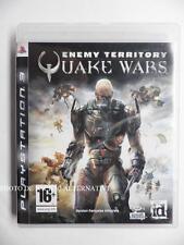 jeu ENEMY TERRITORY QUAKE WARS sur PS3 playstation 3 en francais game spiel TBE