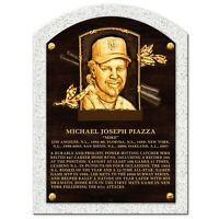 """Mike Piazza New York Mets 3-D Textured Hall of Fame Gallery Plaque (10"""" x 14"""")"""
