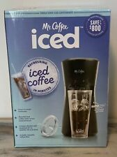 💥SHIPS TODAY💥 Mr Coffee Iced Coffee Maker w/ Reusable Tumbler & Filter - Black
