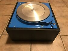 Vintage Russco/Collins 12 Broadcast Transcription Idler Turntable Record Player!