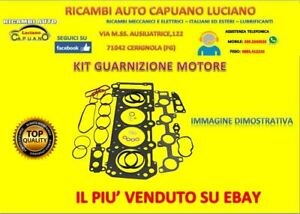 GC511 KIT GUARNIZIONI SERIE MOTORE FIAT 132 ARGENTA LANCIA BETA 1.3 1.6 1.8