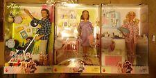 Happy Family Alan & Ryan Dad & Son Midge & Baby Doctor Barbie & Babies 2002 RARE