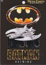 Fascinations Metal Earth 3D Laser Cut Steel Model Kit - Batman 1989 Batwing