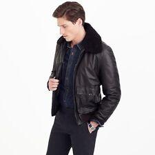 3d057d447 J.CREW Leather Flight/Bomber Coats & Jackets for Men for sale | eBay