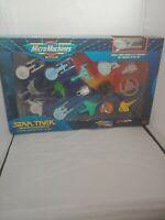 NEW Micro Machines 16 Star Trek Limited Edition USS Enterprise Collectors I Set