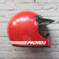 Vintage Bell Moto Star 3 III Motorcycle Full Face Helmet 1975 SNELL 7 1/8 70s