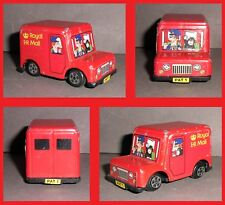 ERTL Vintage Toy POSTMAN PAT Royal Mail BBC TV Series Scale 1:64 1983 Red Van