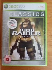 Tomb Raider: Underworld (Microsoft Xbox 360, 2008) tous complet